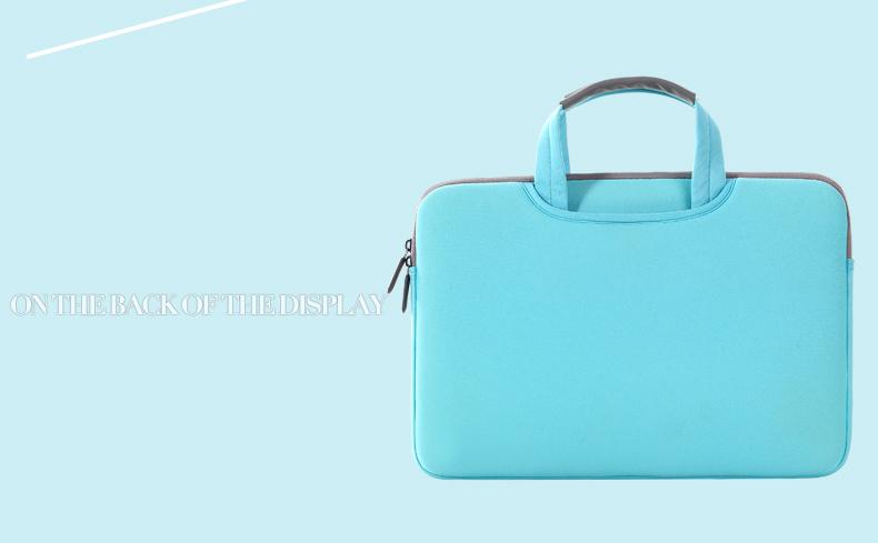 Mặt sau túi chống sốc Breath Simplicity