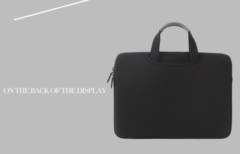 Mặt sau túi đựng laptop Breath Simplicity