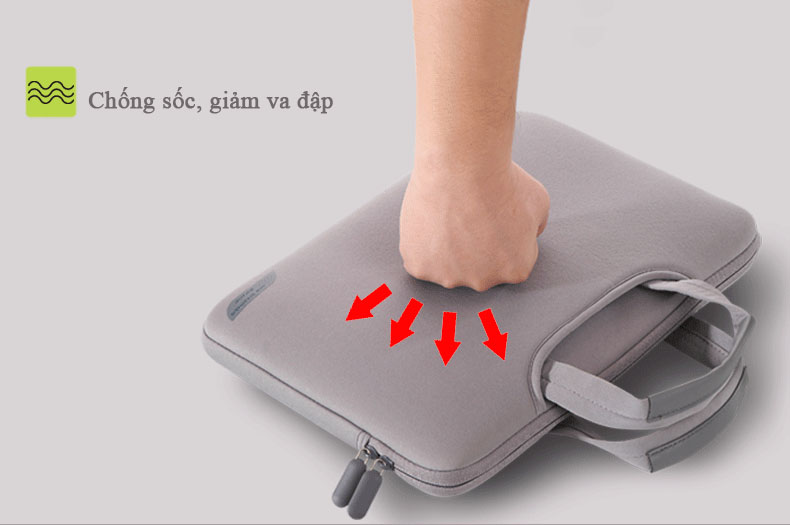 Túi đựng laptop Breath Simplicty chống sốc, giảm va đập