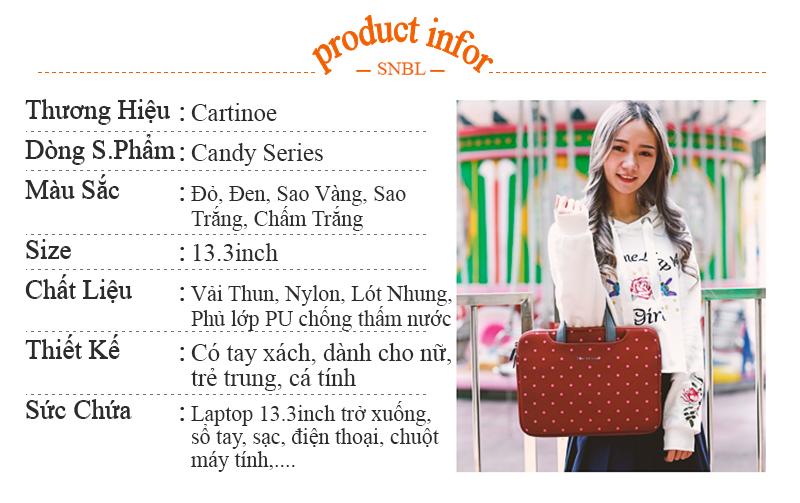 Thông tin sản phẩm túi Laptop Candy 13.3inch