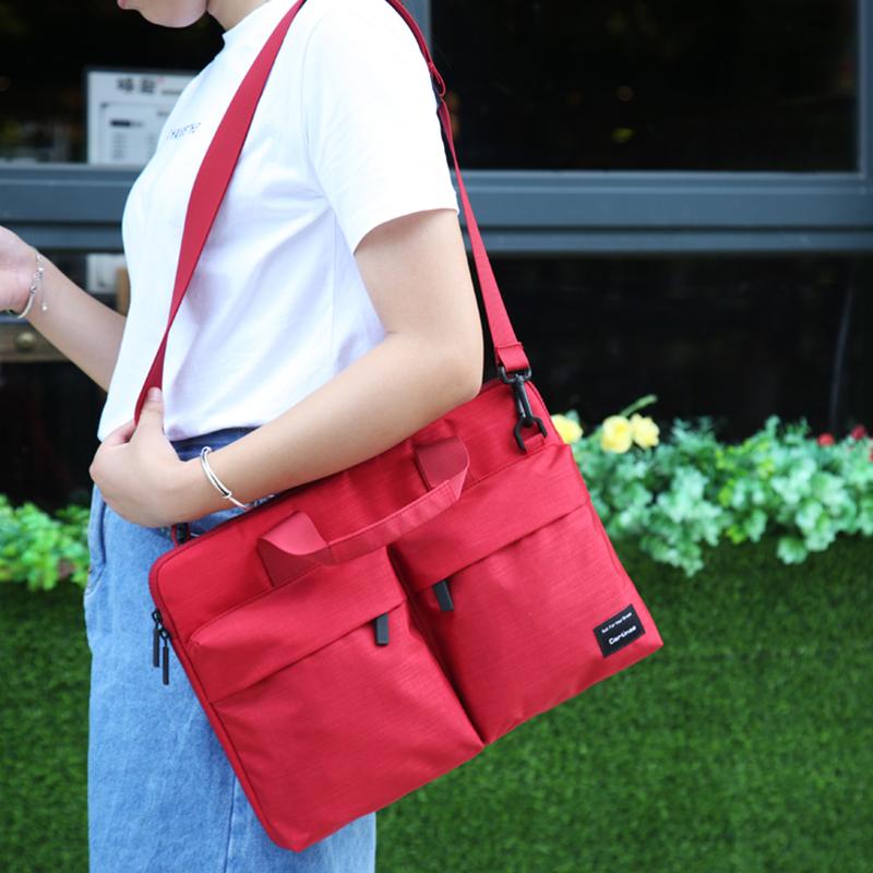 Túi Laptop Fit Series Màu Đỏ 01