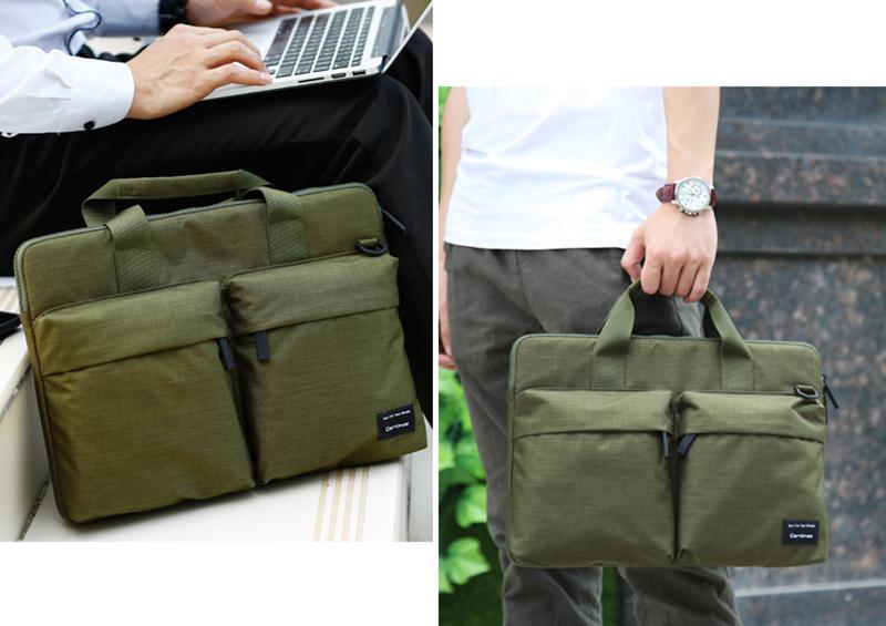 Túi Laptop Fit Series Xanh Rêu 02