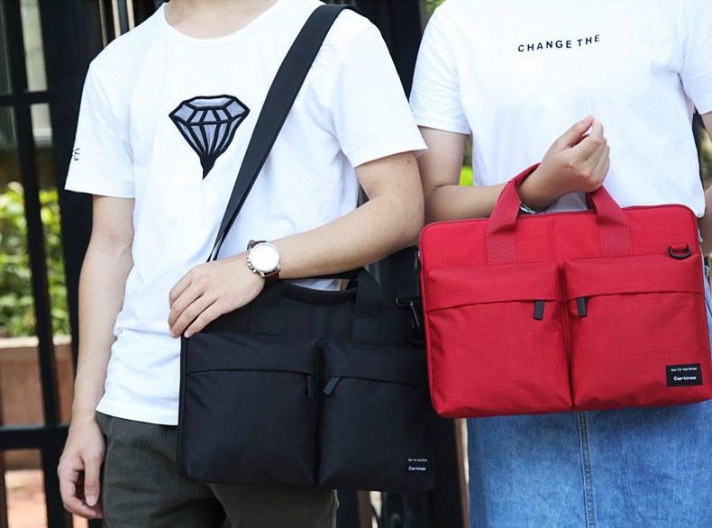 túi chống sốc thời trang fit series đỏ đen